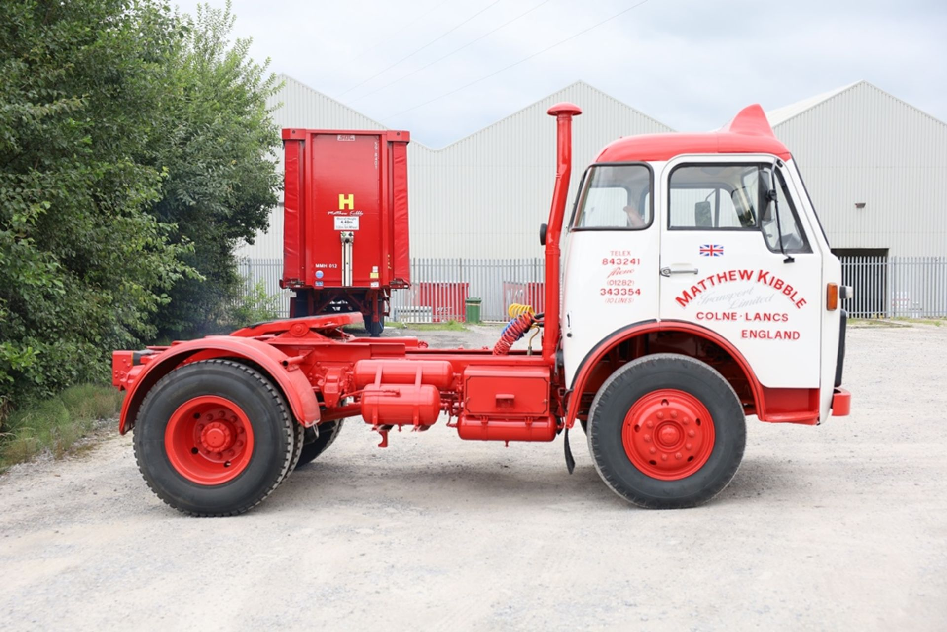 Volvo F86 4X2 TRACTOR UNIT, registration no. YWT 527S, date first registered 01/02/1978, fully - Image 4 of 9