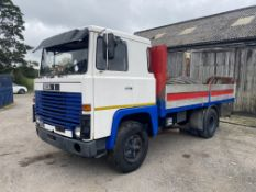 Scania 111 4x2 Rigid Body Alloy Dropside Truck, 1979 (ex Italy – right hand drive) (this vehicle