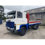 Scania 111 4x2 Rigid Body Alloy Dropside Truck, 1979 (ex Italy – right hand drive), vendors comments