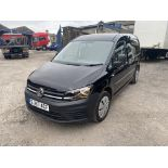Volkswagen CADDY MAXI C20 2.0 TDI KOMBI VAN, registration no. EJ67 ACF, date first registered 20/