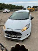 Ford Fiesta Econetic Tech TDCI Diesel Car Derived Van, registration no. YR14 XGW, date first