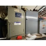 Two Single Door Steel Cabinet, with contents(this lot is subject to 15% buyer's premium)Please read