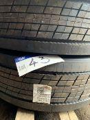 Two Bridgestone 315 70 R22.5 Tyres(this lot is subject to 15% buyer's premium)Please read the