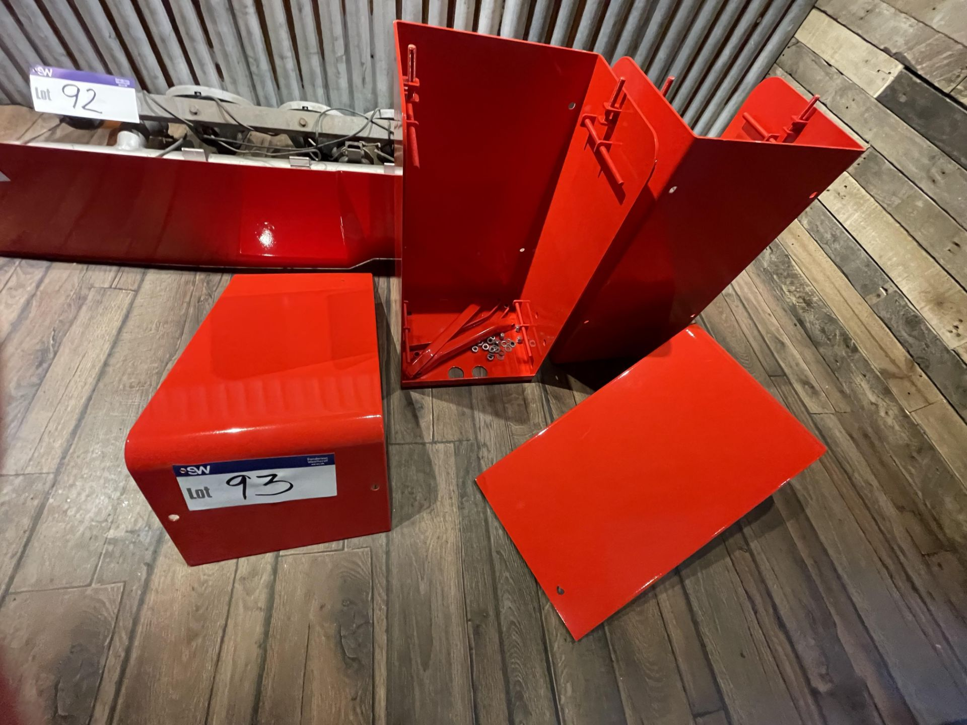 Two Battery Boxes (for Scania 1 Series), unused(this lot is subject to 15% buyer's premium)Please