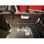 Chest of Drawers, with contents(this lot is subject to 15% buyer's premium)Please read the