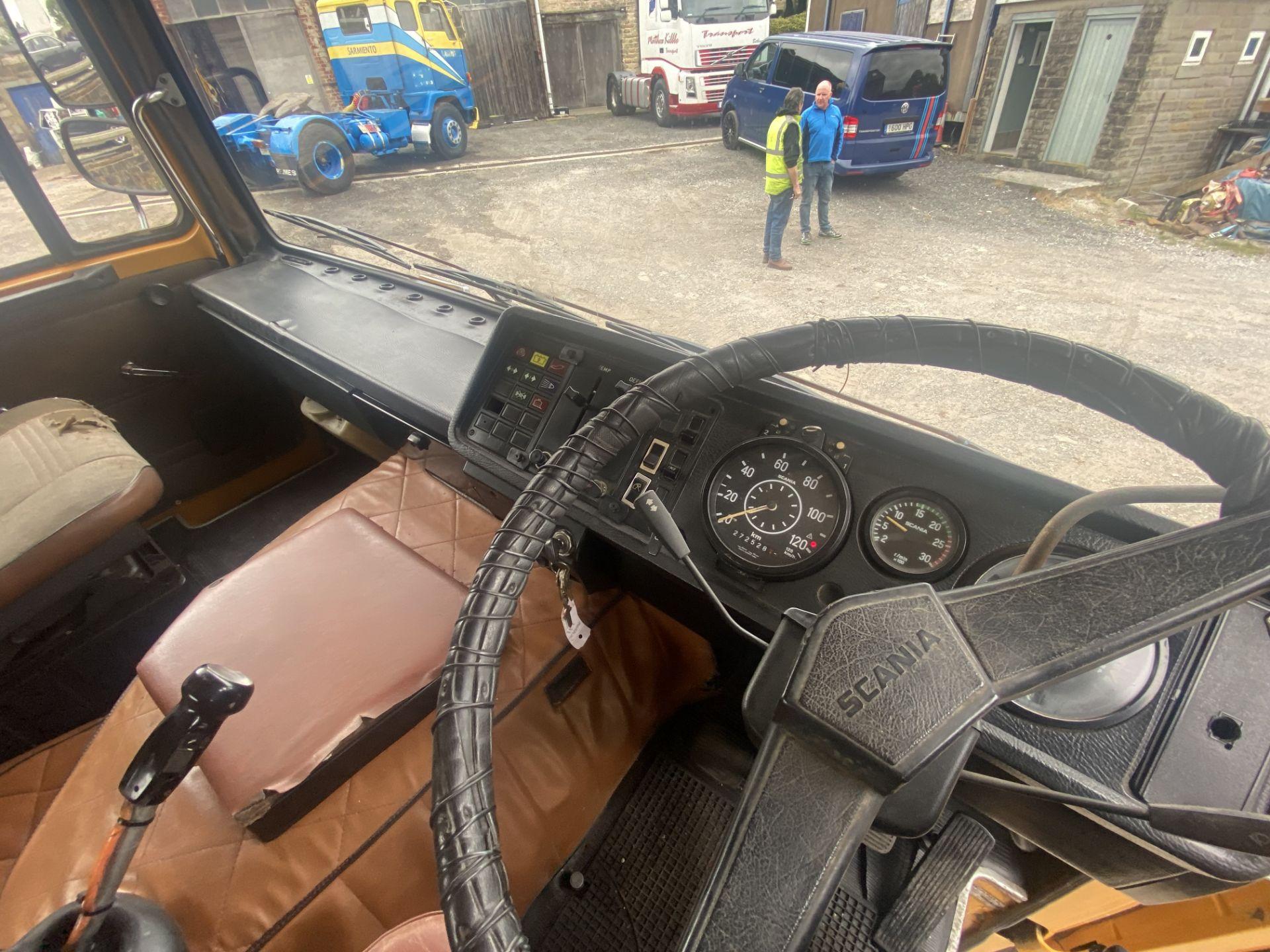 Scania 140 V8 4X2 TRACTOR UNIT, 1976, original vehicle (ex Italy - right hand drive), NOVA - Image 17 of 20