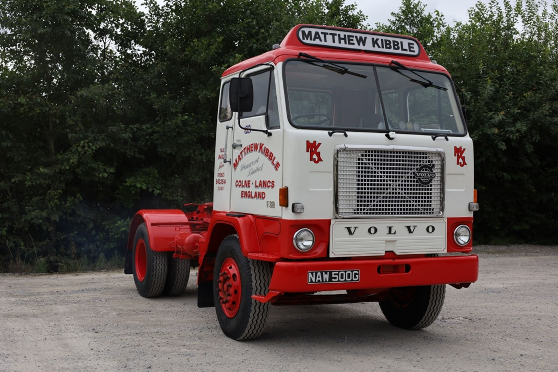 Volvo F88.240 4X2 TRACTOR UNIT, registration no. NAW 500G, date first registered 13/08/1968, fully - Image 3 of 11