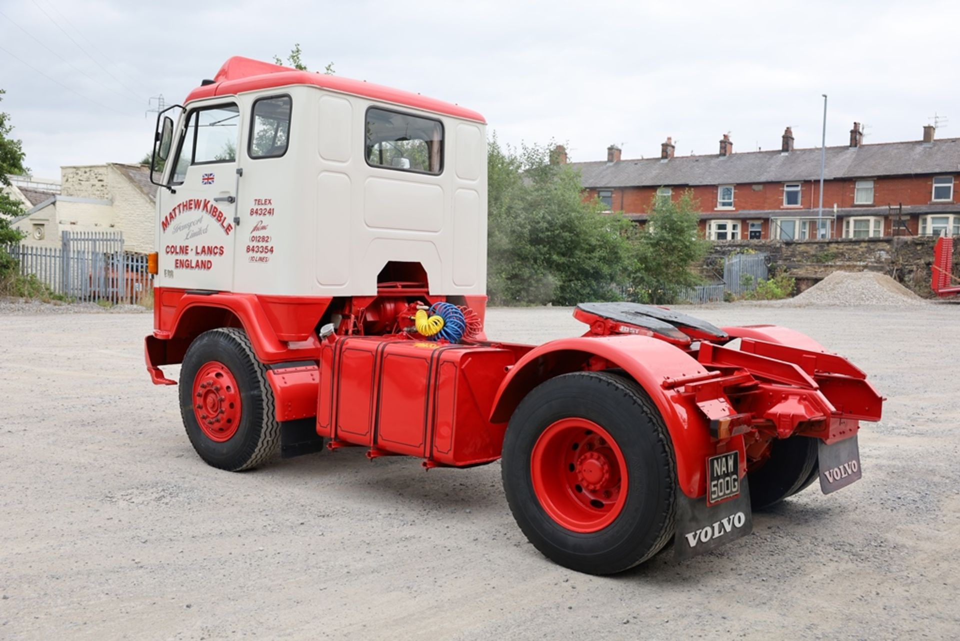 Volvo F88.240 4X2 TRACTOR UNIT, registration no. NAW 500G, date first registered 13/08/1968, fully - Image 5 of 11
