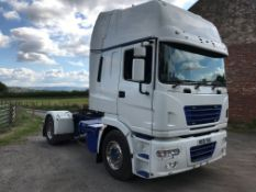 ERF ECX 4x2 Tractor Unit, registration no. MX51 YBA, date first registered 09/2001, indicated