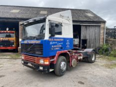 Volvo F12 400 4x2 Tractor Unit, registration no. H81 HKC, date first registered 01/01/1991, for