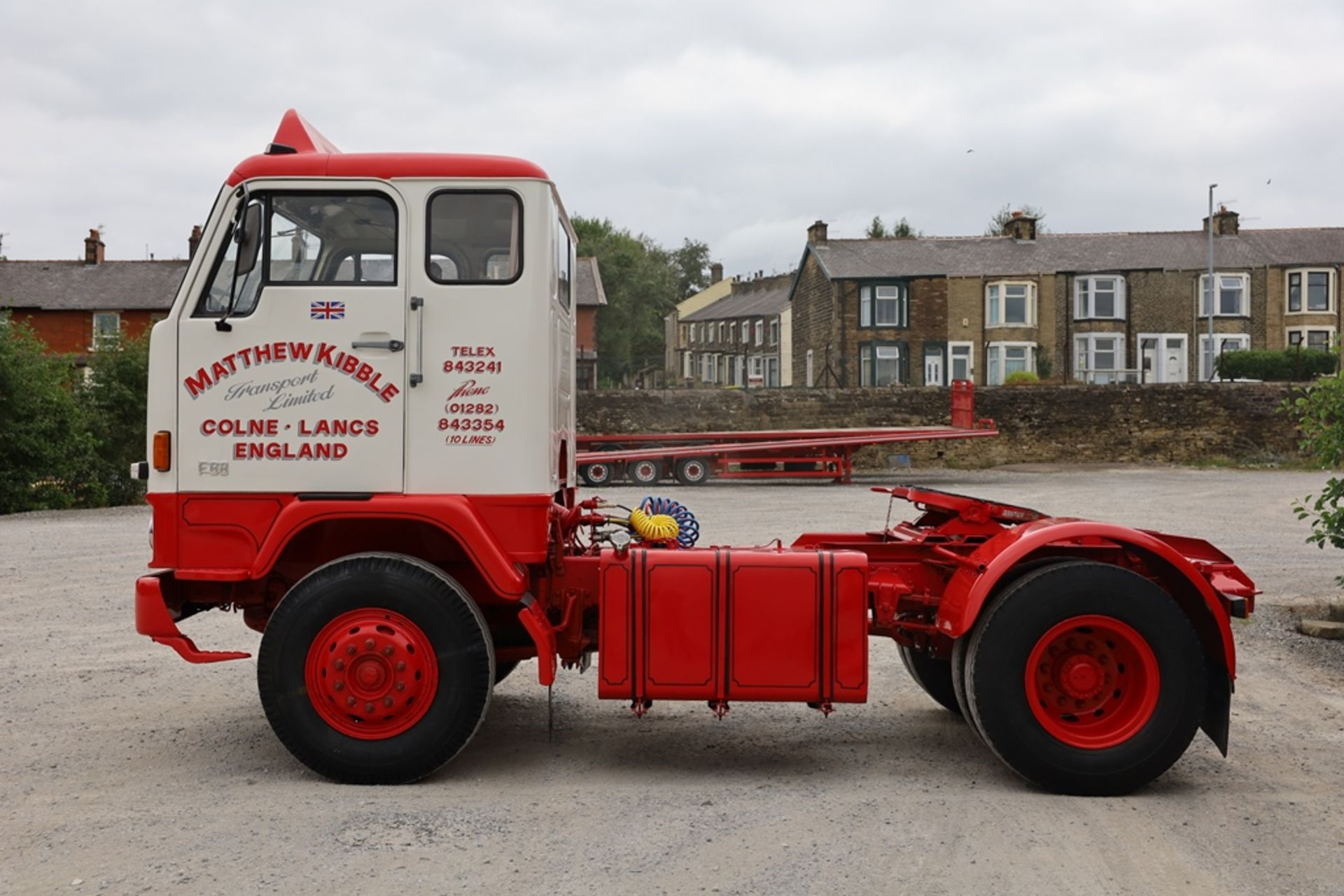 Volvo F88.240 4X2 TRACTOR UNIT, registration no. NAW 500G, date first registered 13/08/1968, fully - Image 8 of 11