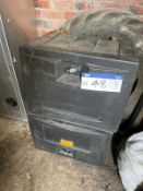 Two Lockers(this lot is subject to 15% buyer's premium)Please read the following important