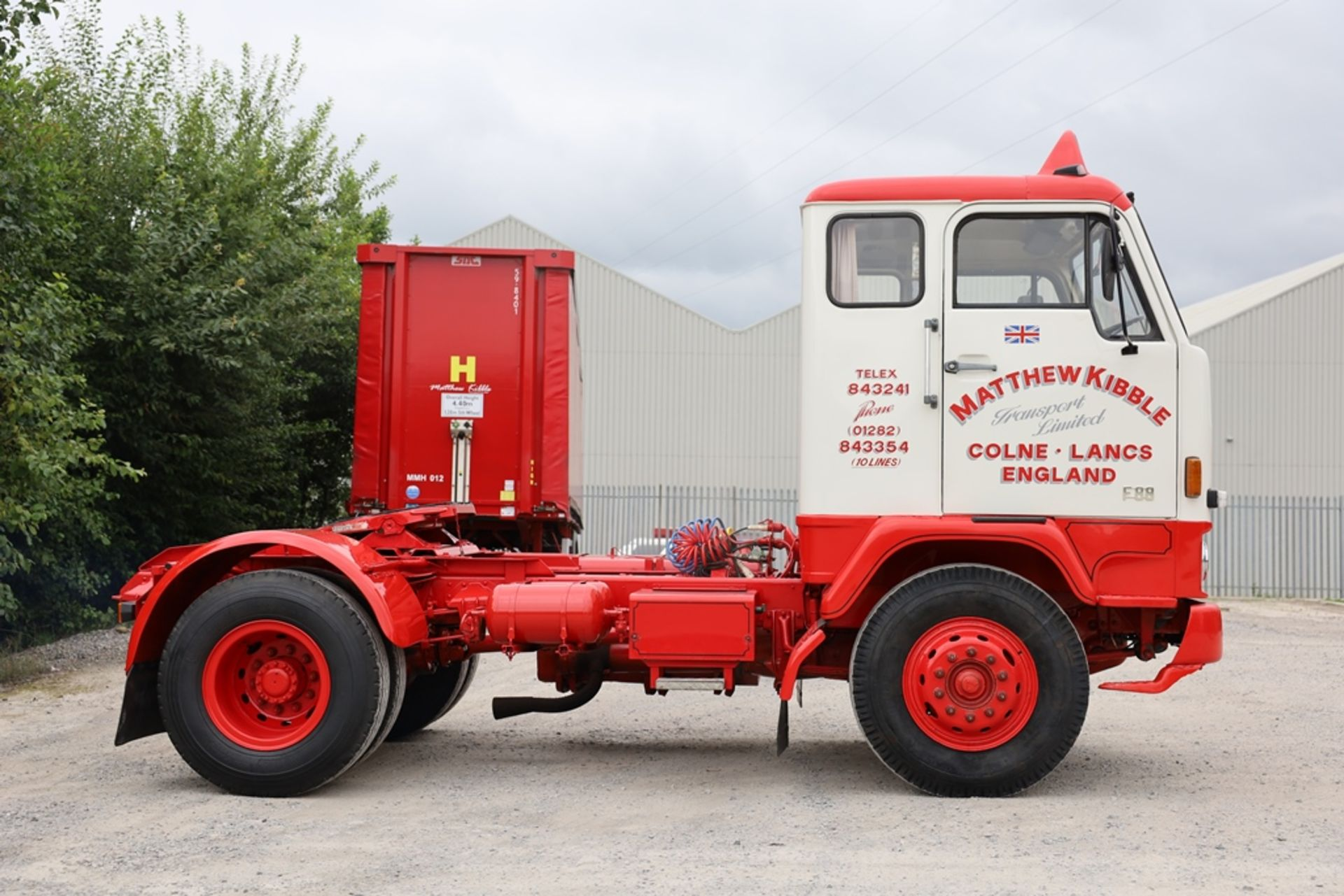 Volvo F88.240 4X2 TRACTOR UNIT, registration no. NAW 500G, date first registered 13/08/1968, fully - Image 7 of 11