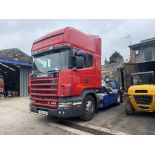 Scania 144 530 4X2 CLASSIC TRACTOR UNIT, registration no. Y281 TDA, date first registered 01/03/