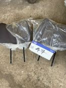 Two Scania 3 Series Head Rests(this lot is subject to 15% buyer's premium)Please read the following