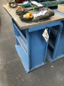 Shoham Metal Punch Tool Stand, with aluminium plate topePlease read the following important