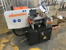 Elumatec AF222/02 End Milling Machine, machine no. 2220230286, year of manufacture 2016Please read