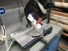 Felisatti T85 Mitre Cutting Saw, 240V & mobile work stationPlease read the following important