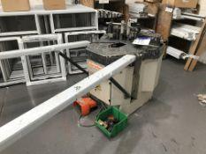 Elumatec EP124 Corner Crimping Machine, machine no. 1240024152, year of manufacture 2007Please