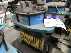 Shoham Pneumatic Punch Tool, Model COM5 Type T4, serial no. 356, year of manufacture 2003Please read