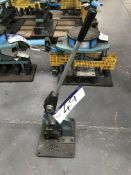 Shoham Manual Punch Tool, Model COM6 Type T3, serial no. 622, year of manufacture 2005Please read