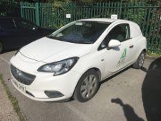 Vauxhall Corsavan 1.3 CDTi 16v VAN, registration no. YM16 OYK, date first registered 06/07/2016,