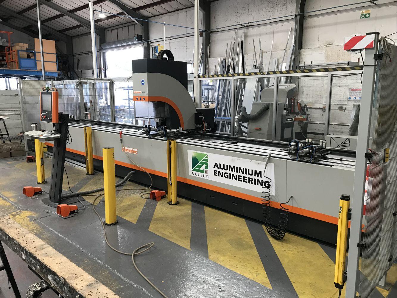 Aluminium Window, Door & Curtain Wall Manufacturing Machinery, Motor Vehicles c/w Glass Racks, Fork Lift Truck, Factory Tools & Equipment