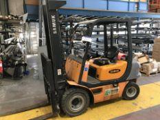 Samuk SD 20D Diesel Fork Lift Truck, 2000kg cap., serial no. CMP230D51606874KF, year of
