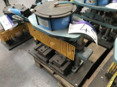 Shoham Pneumatic Punch Tool, Model COM7 Type T10, serial no. 722, year of manufacture 2005Please