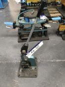 Shoham Manual Punch Tool, Model COM6 Type T4, serial no. 630, year of manufacture 2005Please read