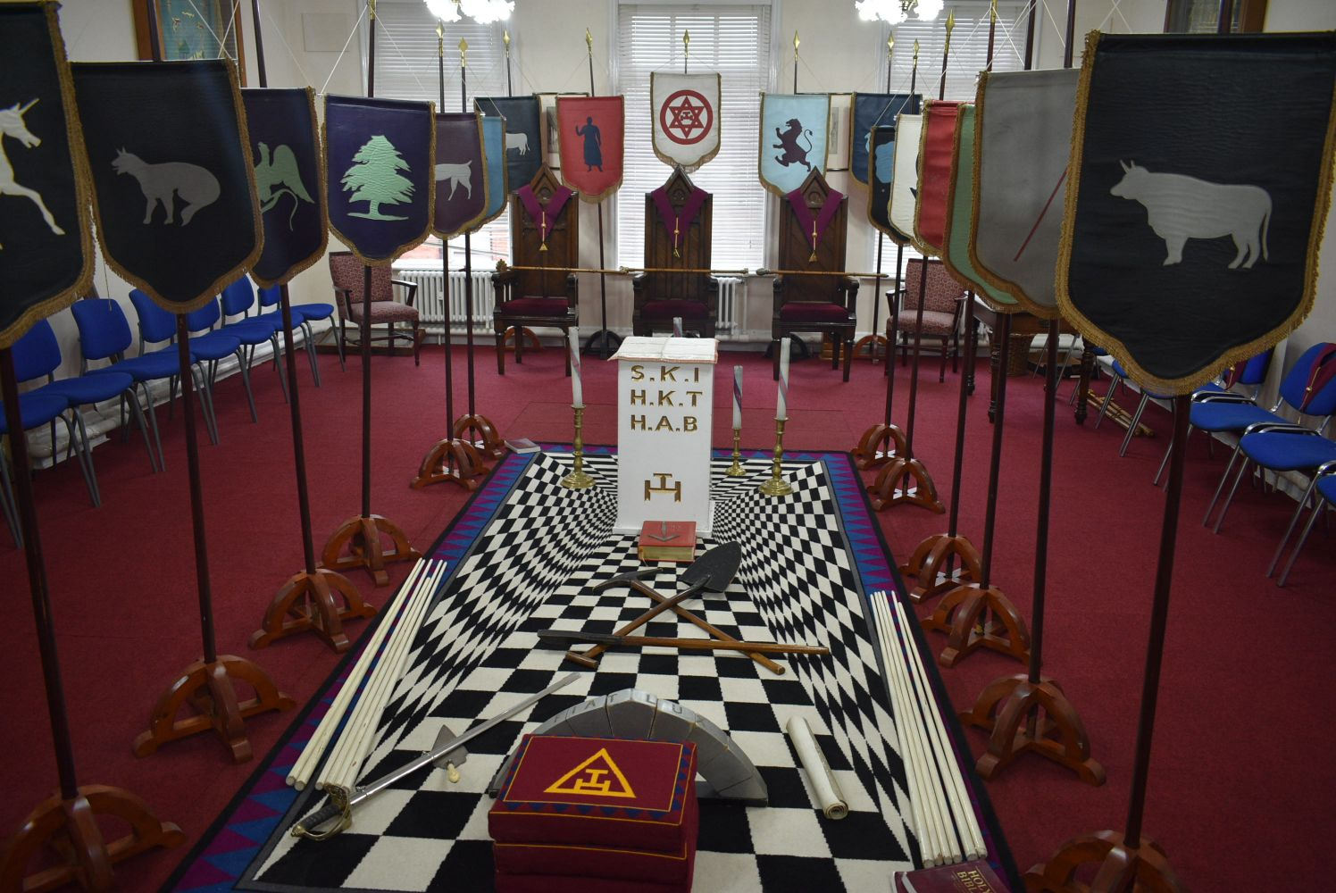 Masonic Lodge Furnishings & Regalia and Kitchen, Restaurant & Bar Equipment