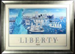 Julian Allen (1942-1998) American, Poster