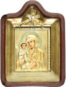 Antique 19th C. Russian Icon