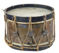 Antique Drum w/ Original Rope Straps