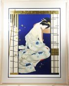 Haruyo Morita (b. 1945) Japanese, Lithograph