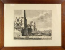 Luigig Rossini (1790-1857) Italian, Etching