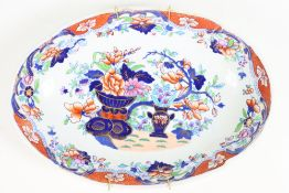Antique English Ironstone Platter