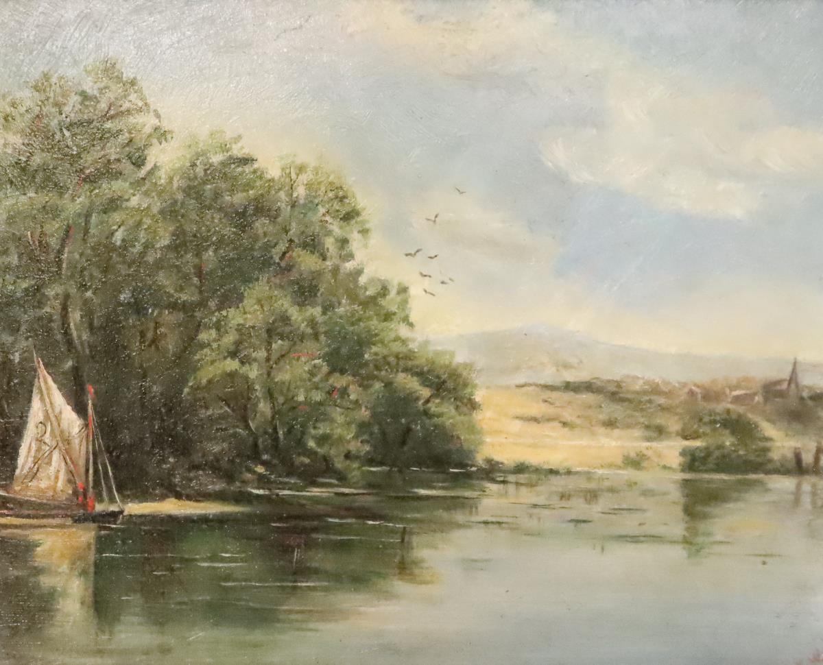 Early 20th Century Signed Oil on Board - Image 3 of 4
