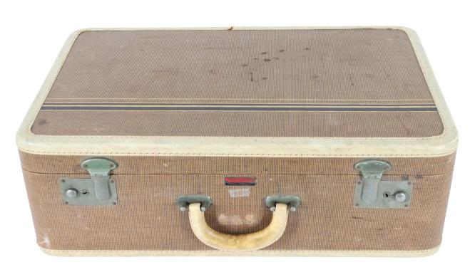 Vintage Retro Suitcase of Anita Lhoest