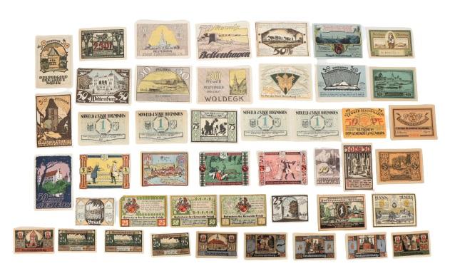 (132) German Banknotes and Notgeld 1922 - Image 5 of 6