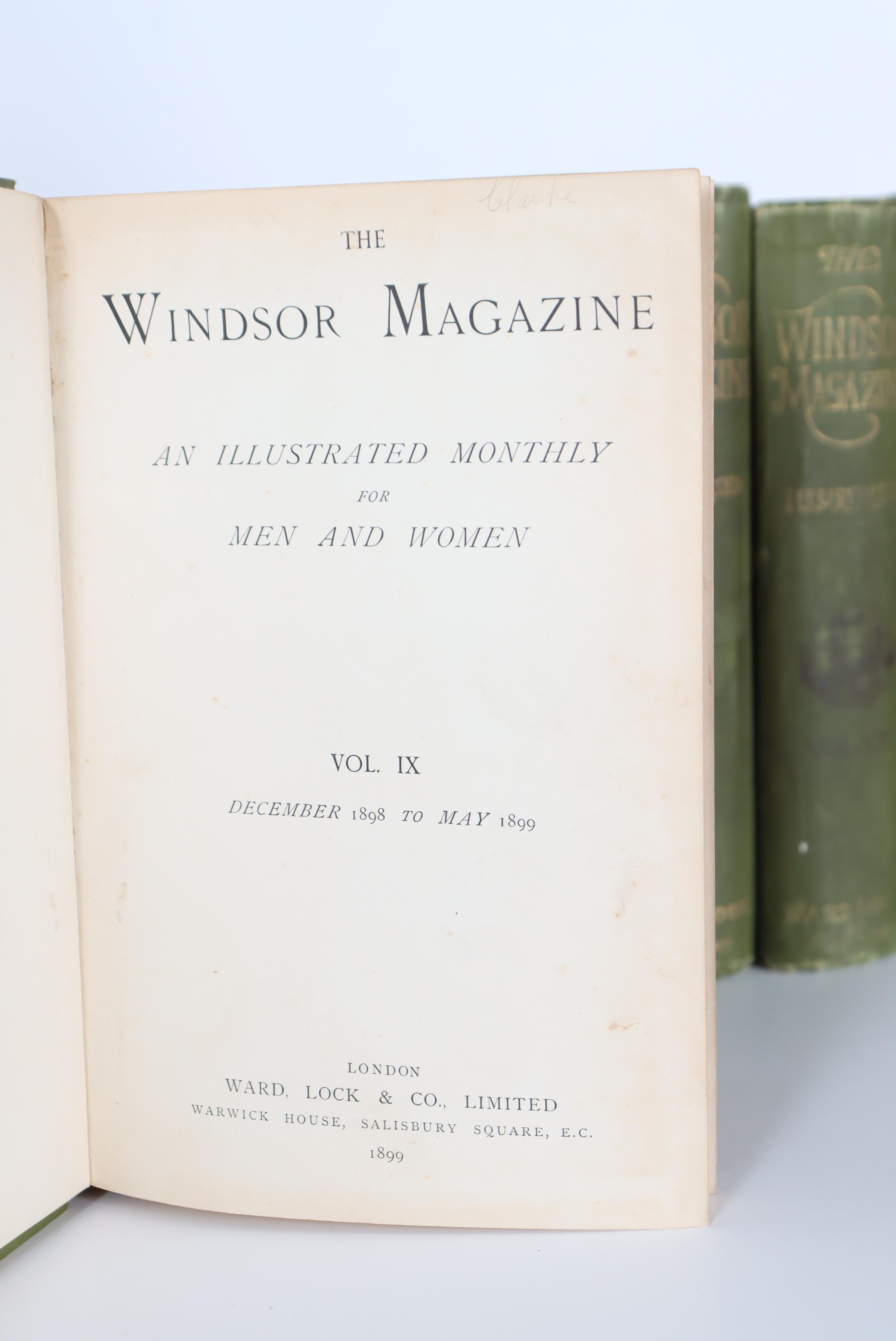 (15) Volumes of The Windsor Magazine 1895-1902 - Image 5 of 6