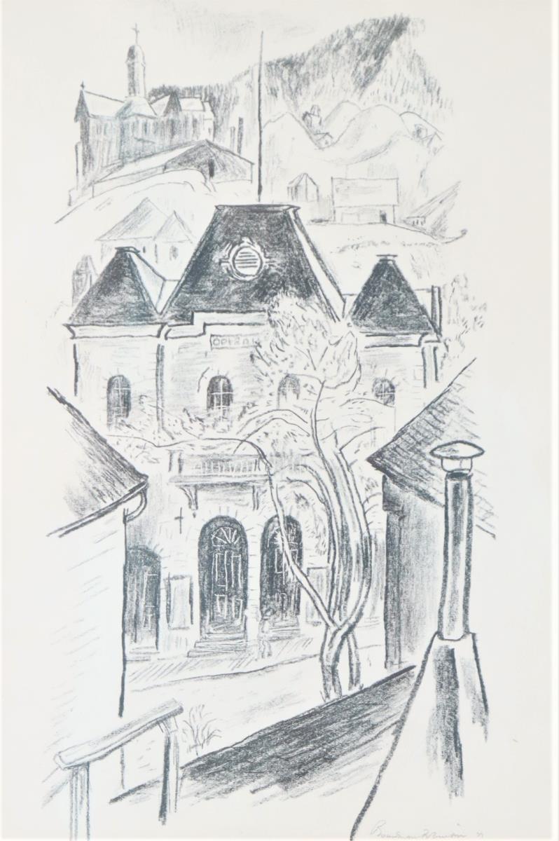 Boardman Robinson (1876-1952) American, Charcoal - Image 4 of 4