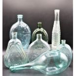 Collection of (7) Antique Glass Bottles