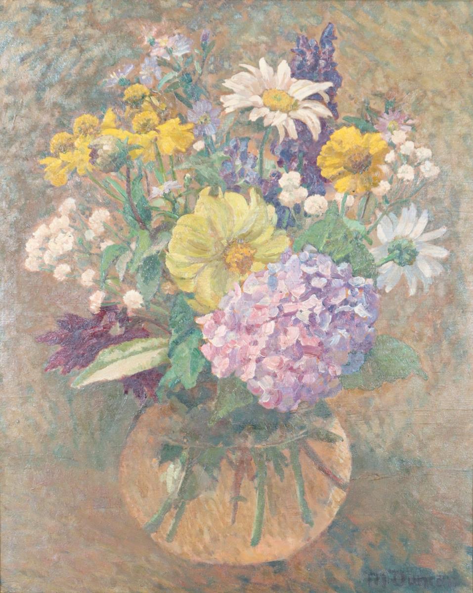 Mary Duncan (English, 1885-1964) Still Life O/C - Image 4 of 4
