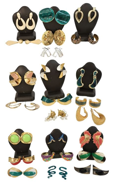 Large Collection of Ladies Earrings, 24 Pairs