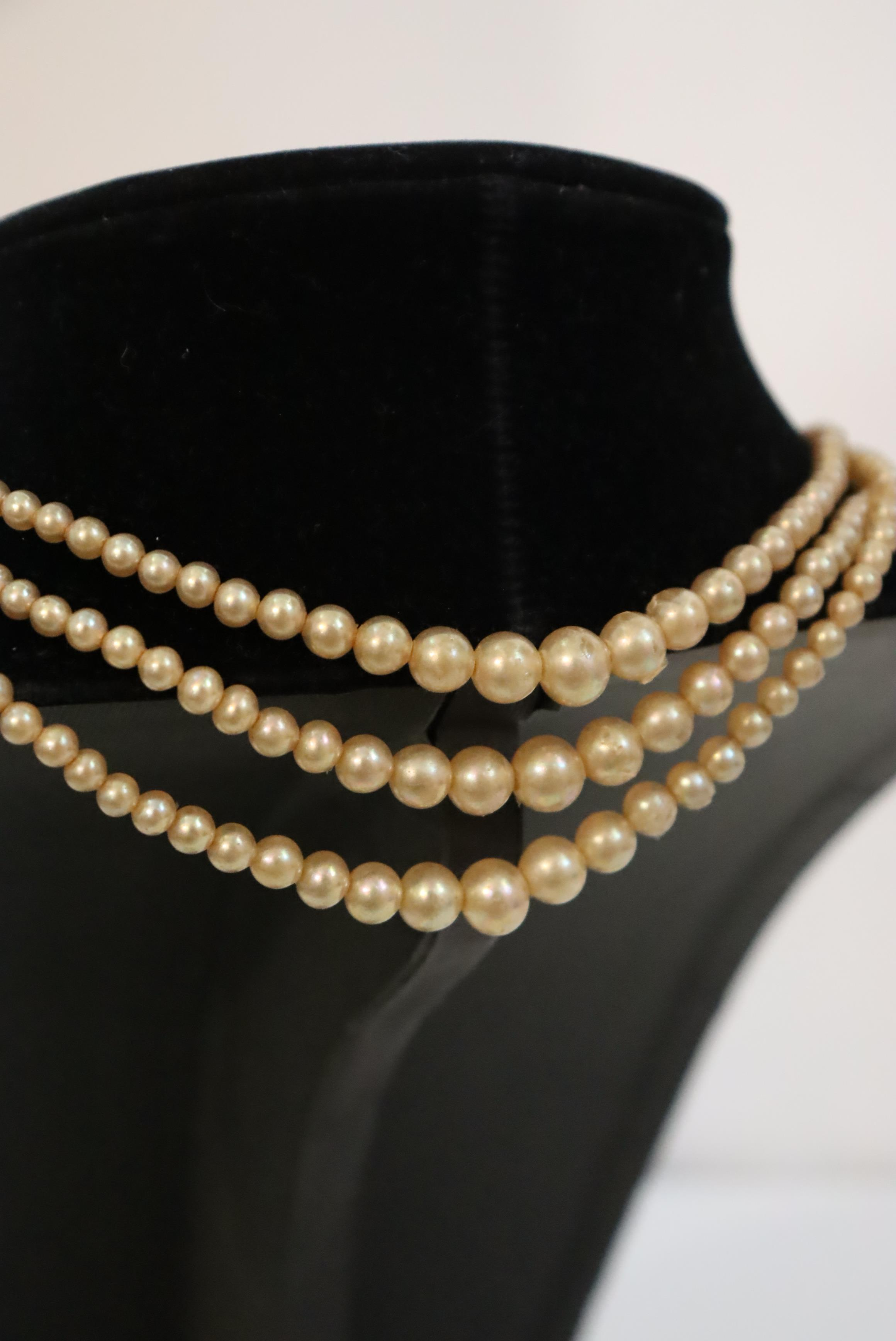 Large Collection of (10) Pearl / Beaded Necklaces - Image 9 of 20