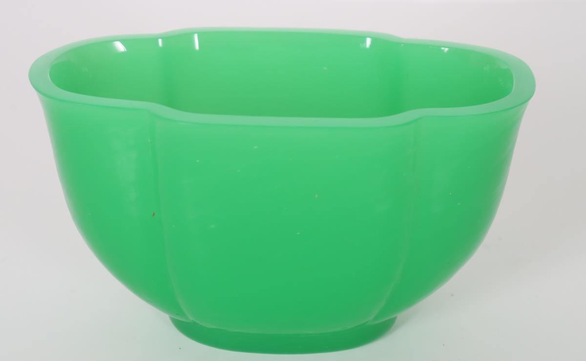 Steuben Green Jade Glass Bowl - Image 2 of 3