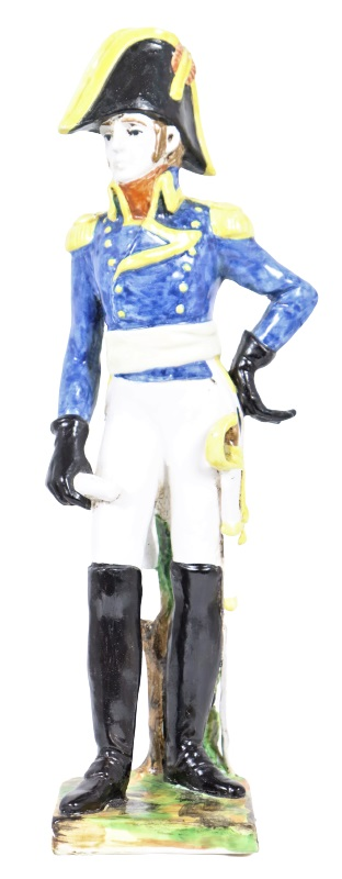 Italian Royal Majolica Soldier Figure