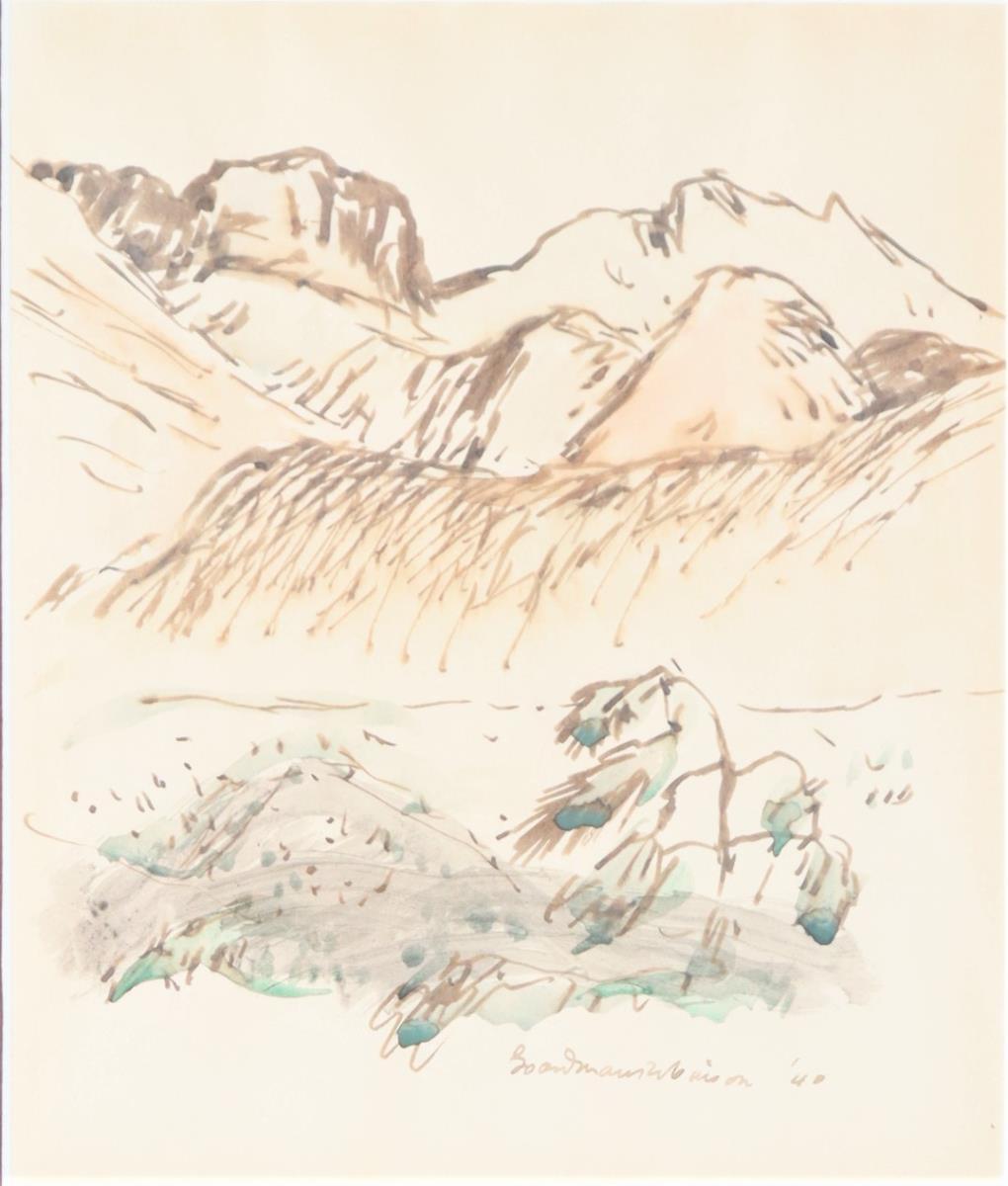 Boardman Robinson (1876-1952) American, W/C - Image 3 of 4