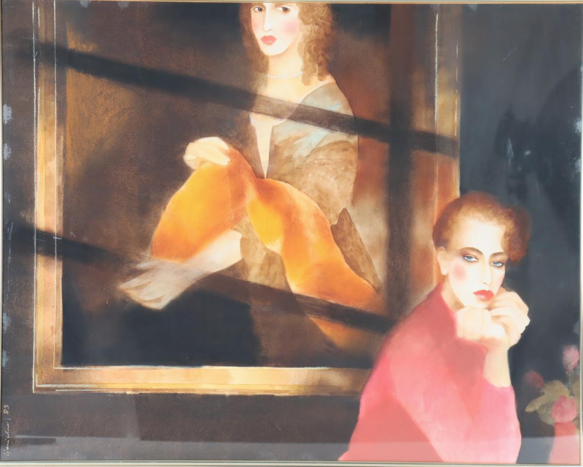 Joanna Zjawiaska (b.1950) American, Watercolor
